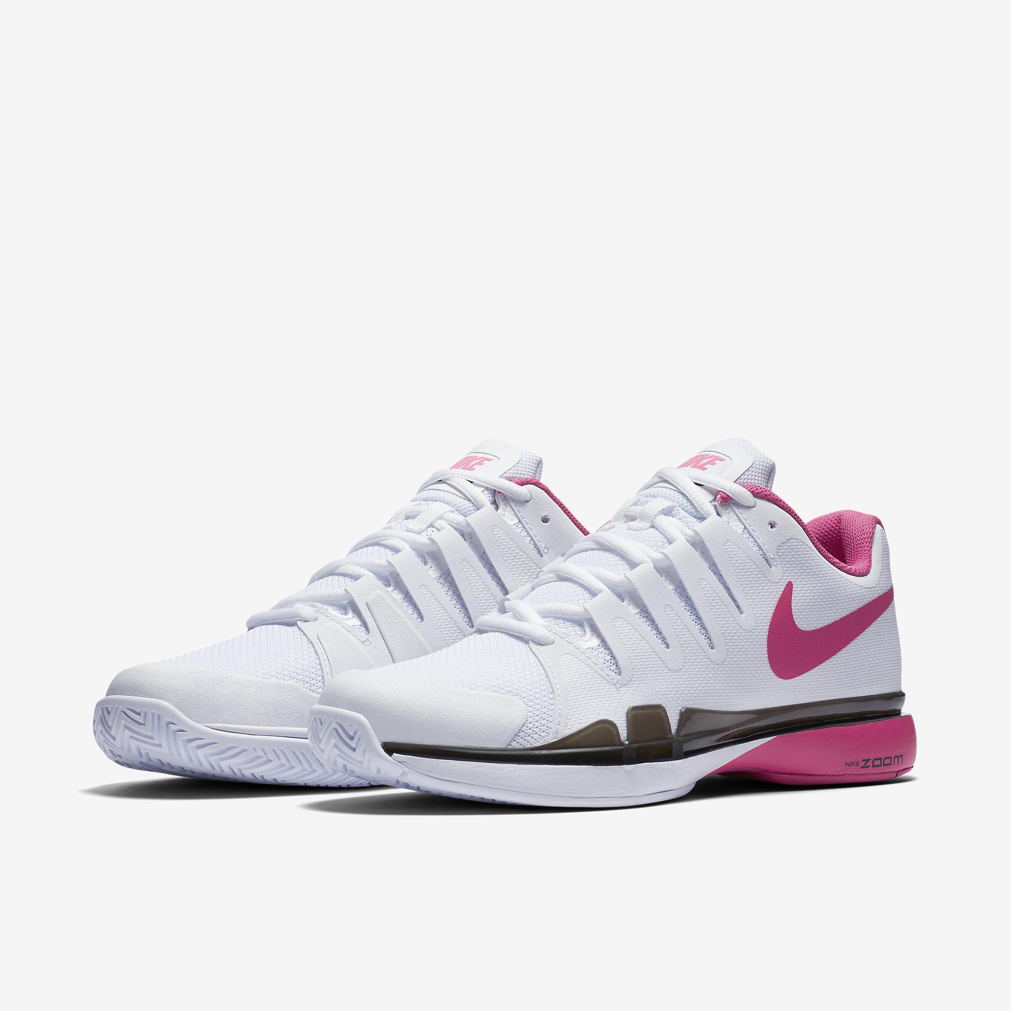 nike womens zoom vapor 95 tennis shoes  whitepink