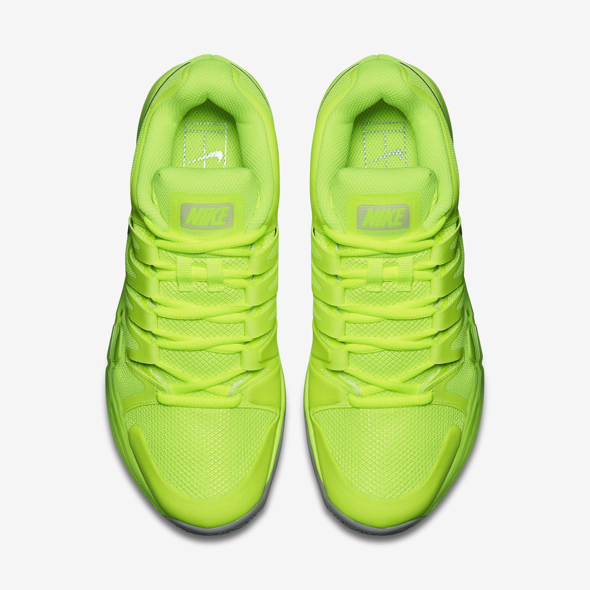 Nike Womens Zoom Vapor 9.5 Tennis Shoes - Volt Wolf Grey ... bea5e82c1
