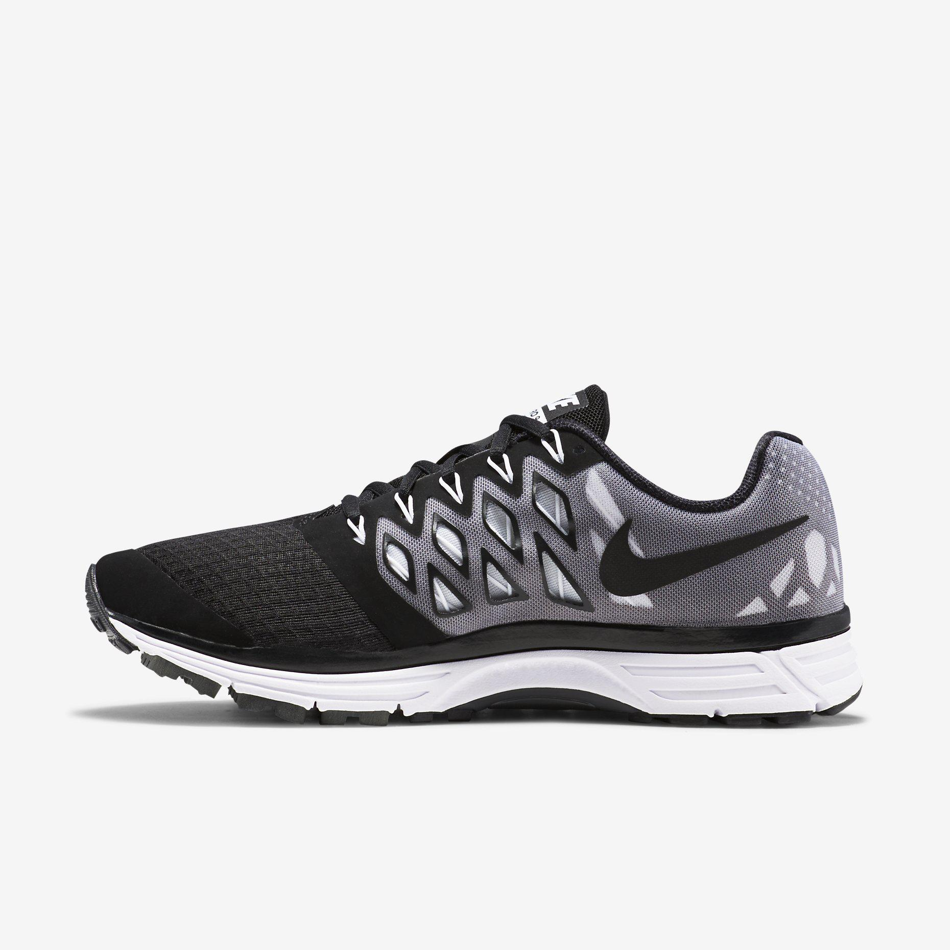 2e3d452ab610 Nike Mens Zoom Vomero 9 Running Shoes - Black White - Tennisnuts.com