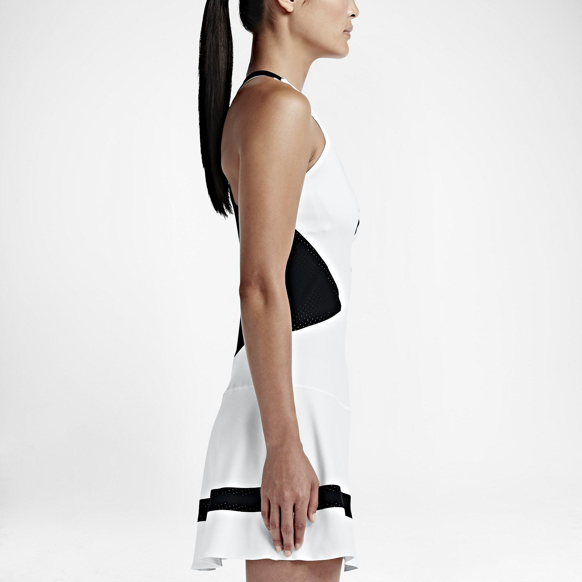 Out Of Stock. Nike Womens Premier Maria Dress - White/Black; Nike ...