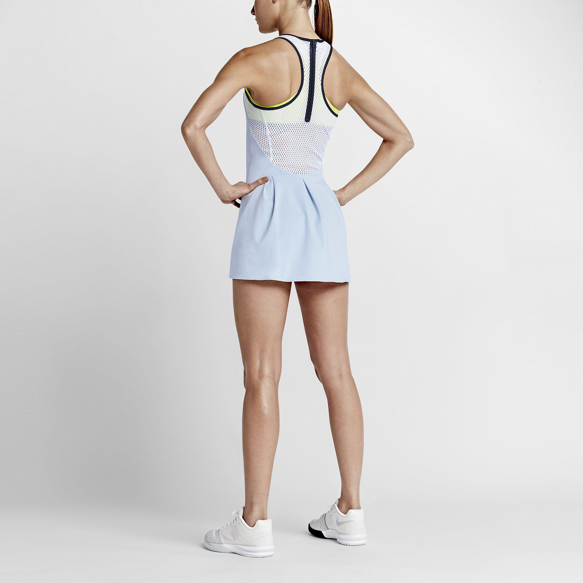 Nike Womens Premier Dress - Blue/White
