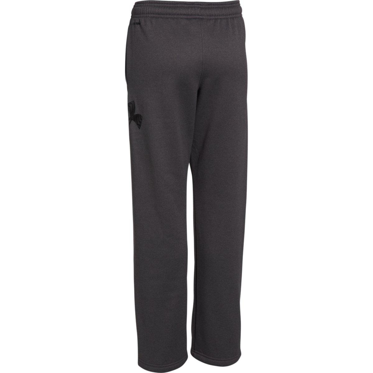 dd1e4c1309c Under Armour Boys Armour Fleece Sweatpants - Carbon Heather - Tennisnuts.com