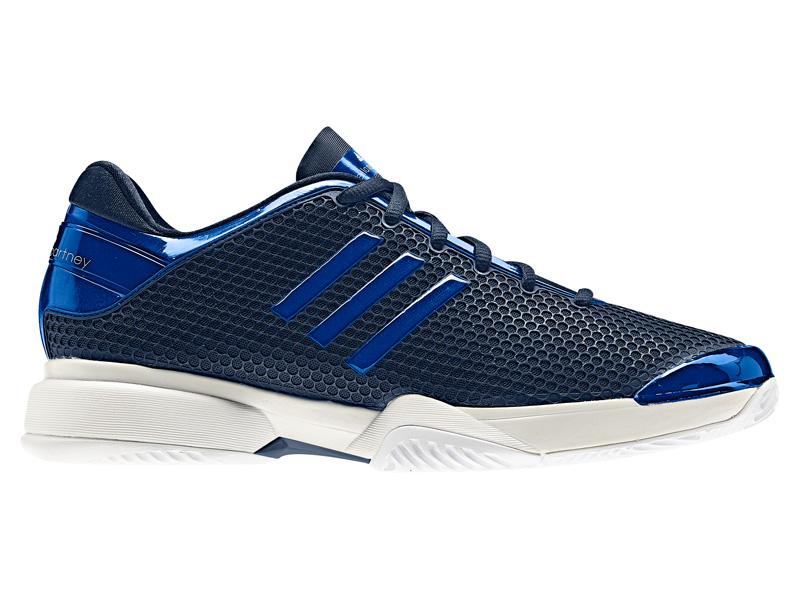 daf085f1424 Adidas Womens Stella McCartney Barricade 8 Tennis Shoes - Navy -  Tennisnuts.com