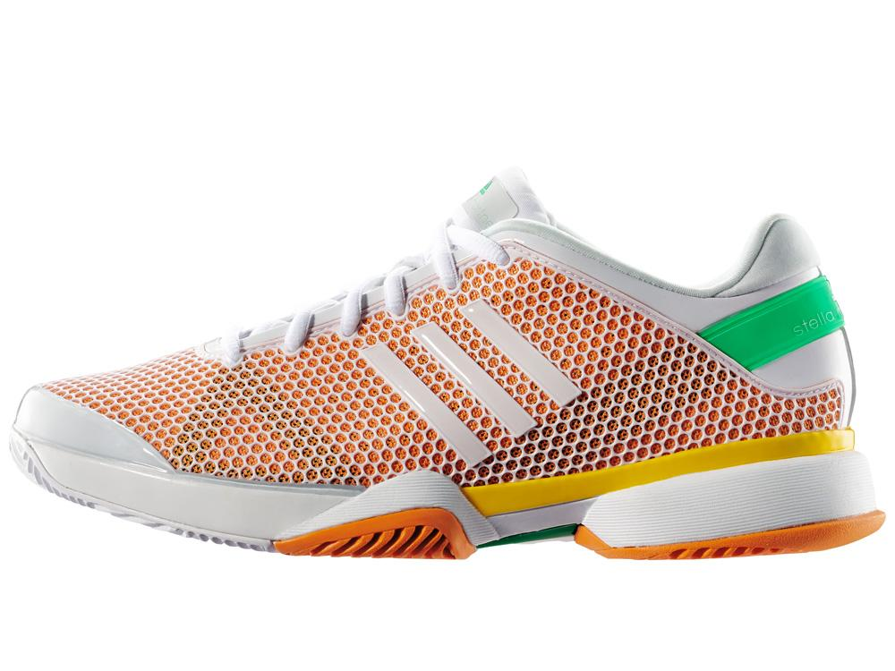adidas womens stella mccartney barricade 8 tennis shoes