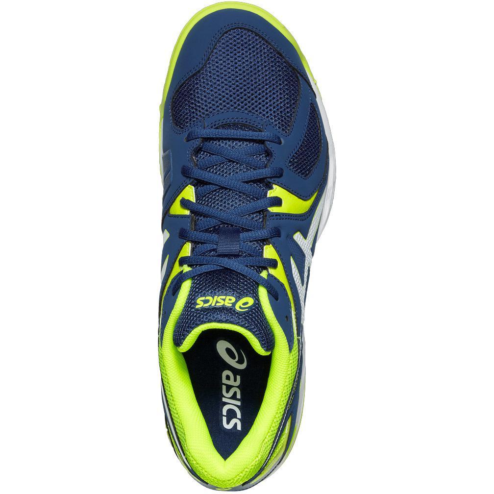 7f55e82839 Asics Mens GEL-Hunter 3 Indoor Court Shoes - Blue/Yellow