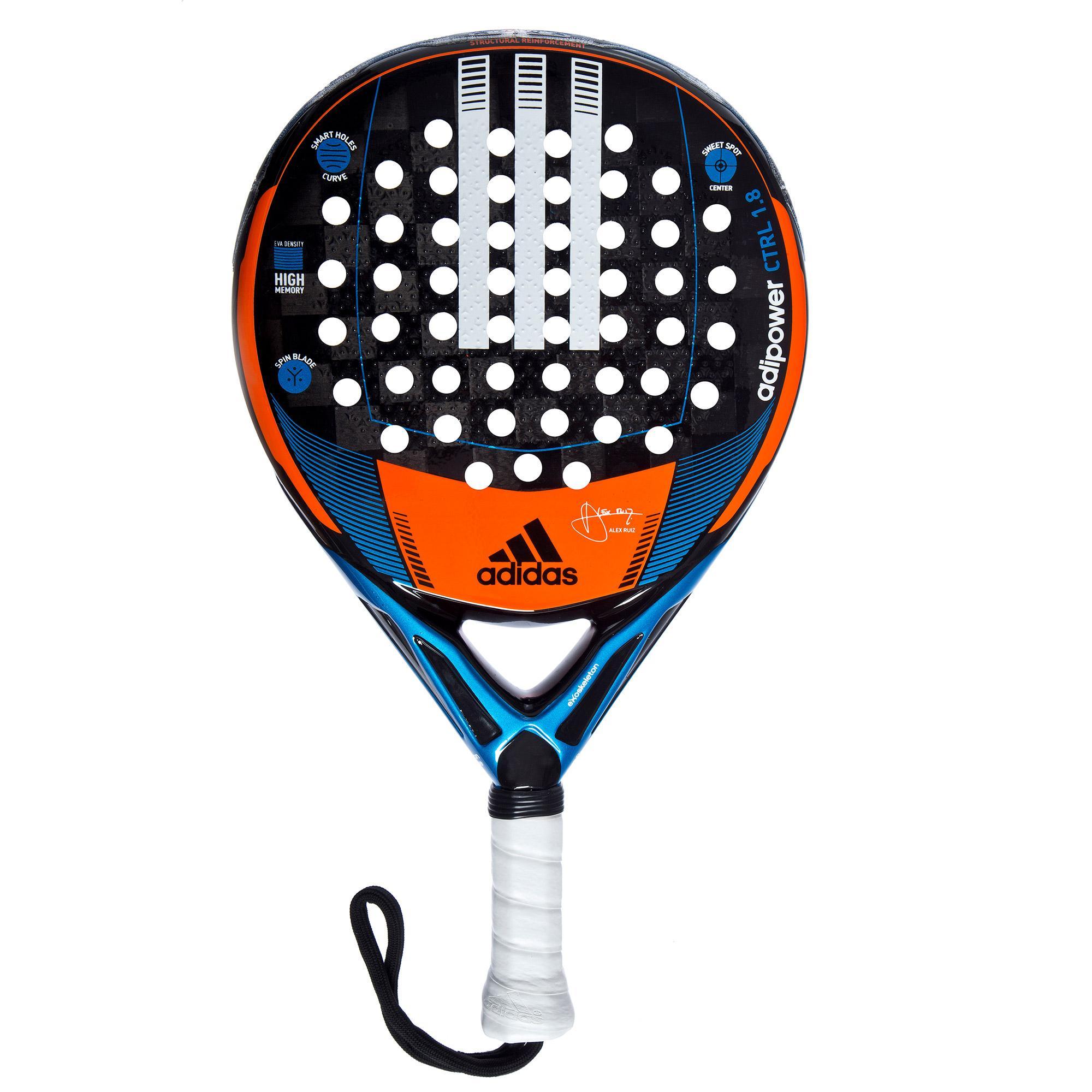 Incierto embudo Párrafo  Adidas Adipower 1.8 Control Padel Racket - Tennisnuts.com