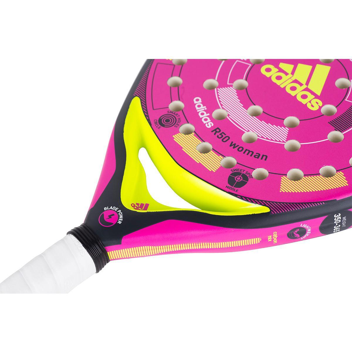 Adidas R50 Padel Racket - Pink - Tennisnuts.com d6fe8e0419