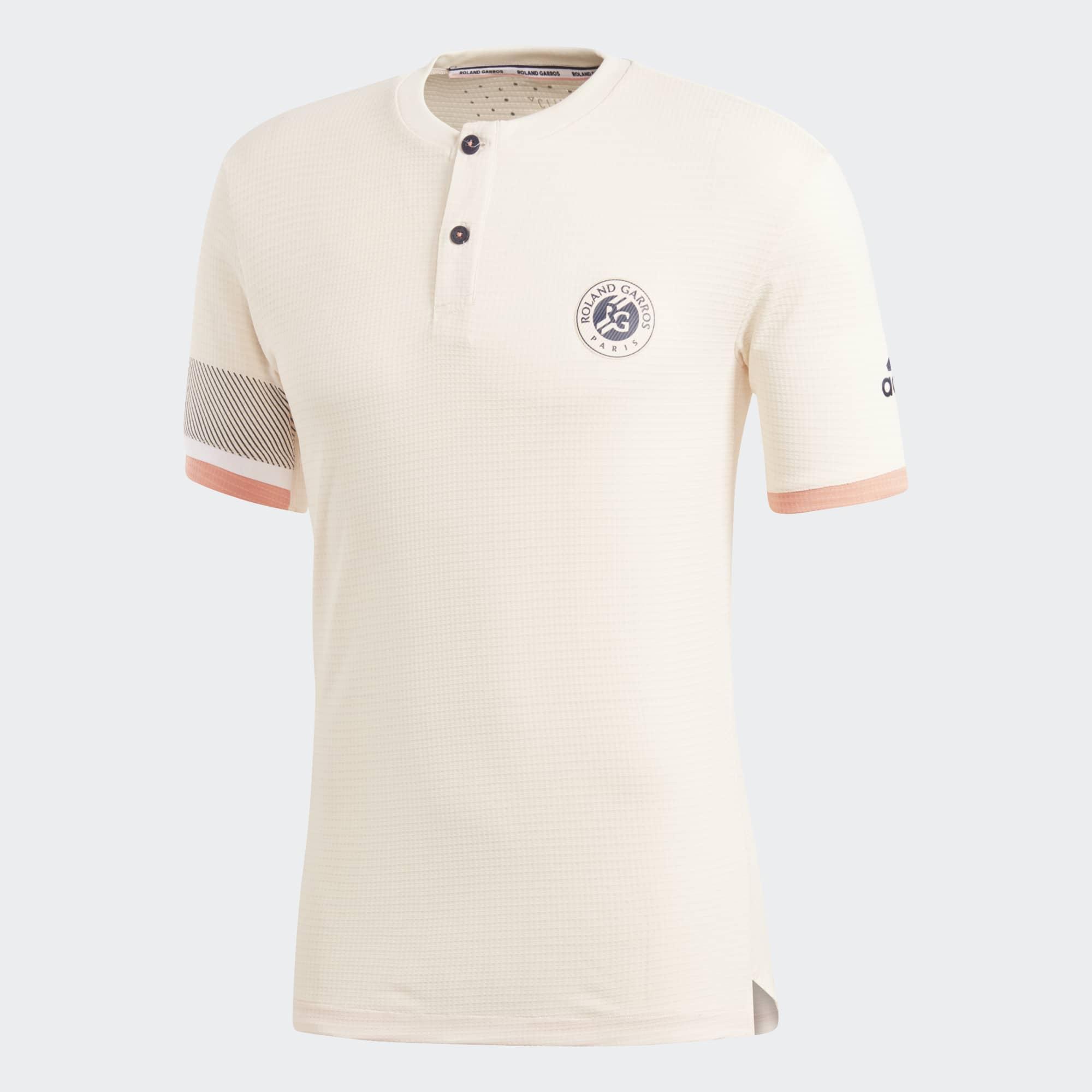 Tee Adidas Ecru Roland Tennis Climachill Mens Tint Garros wAqAYrXxP