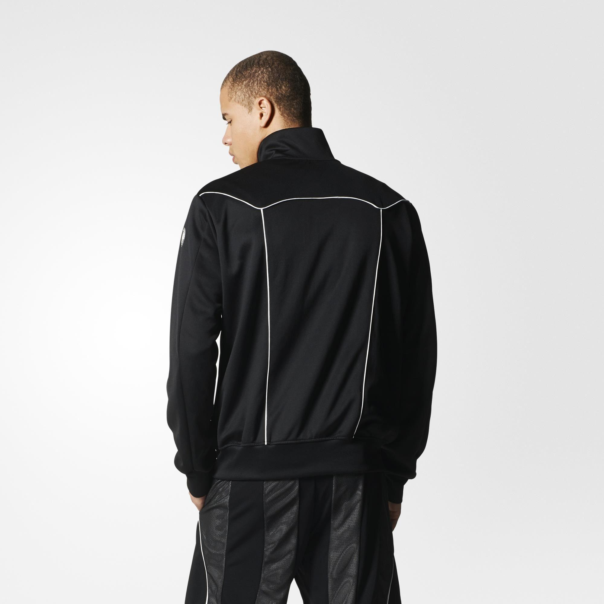 99be4e66d4196 Adidas Mens Y-3 Roland Garros Jacket - Black - Tennisnuts.com