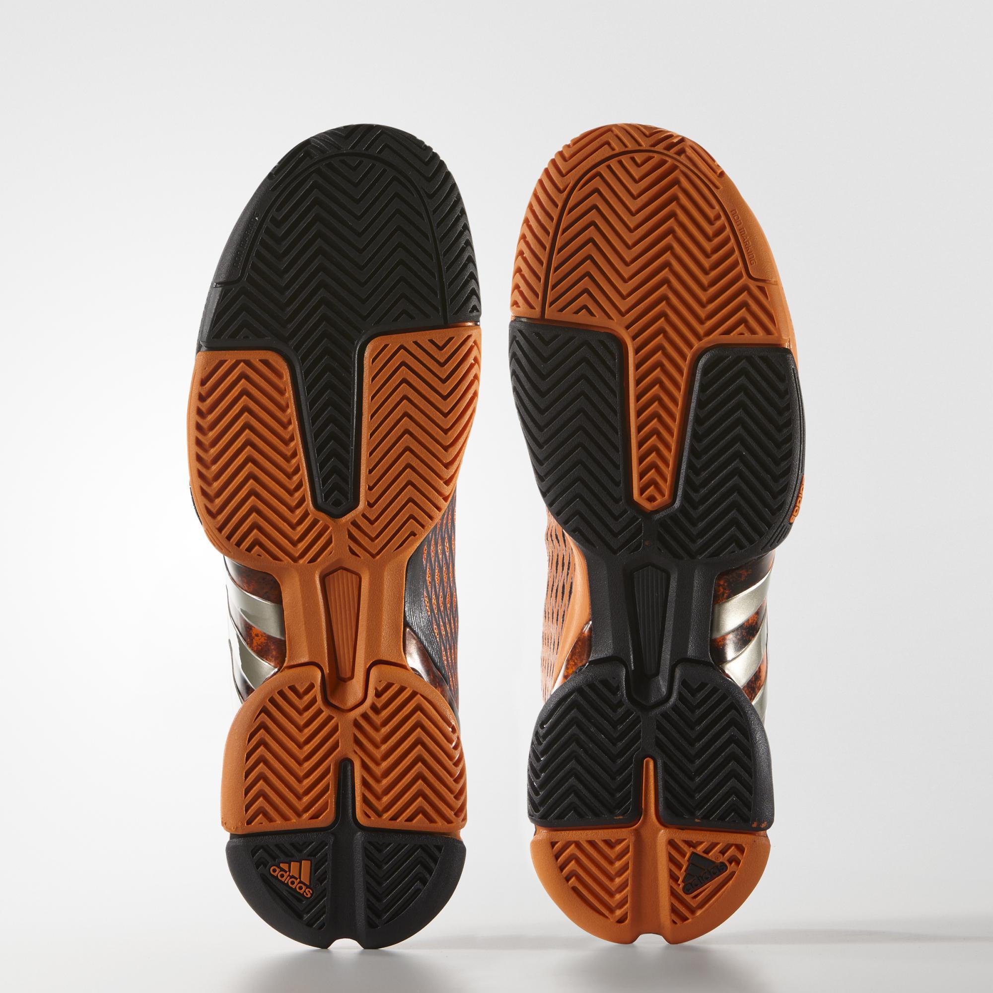 918f9a8f2 Adidas Mens Barricade 2016 Alexander Tennis Shoes - Orange Black ...