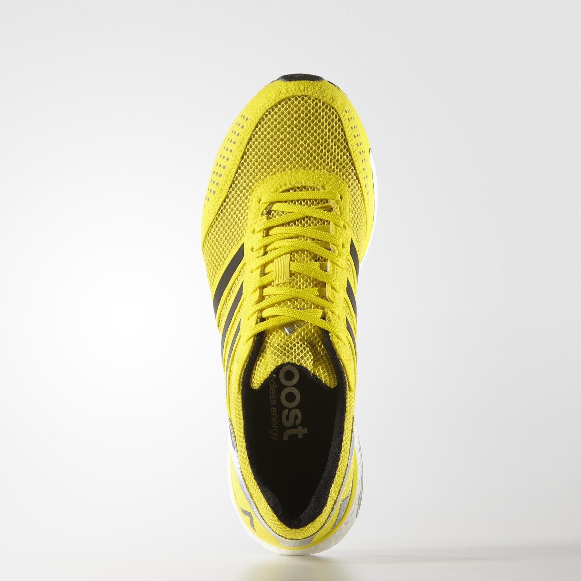 adidas adios yellow