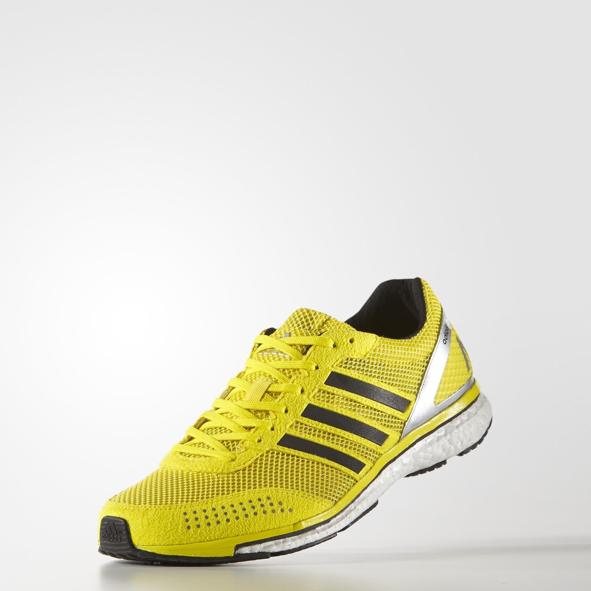 Adidas Adizero Adiós Boost 2.0 Haile Hombre Zapatillas De Deporte - Amarillo dF6oB