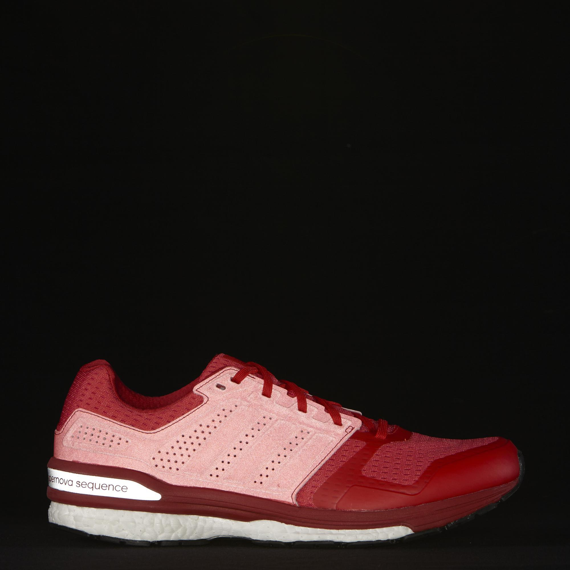 85be7ba70c3b4 Adidas Mens Supernova Sequence Boost Running Shoes - Red ...
