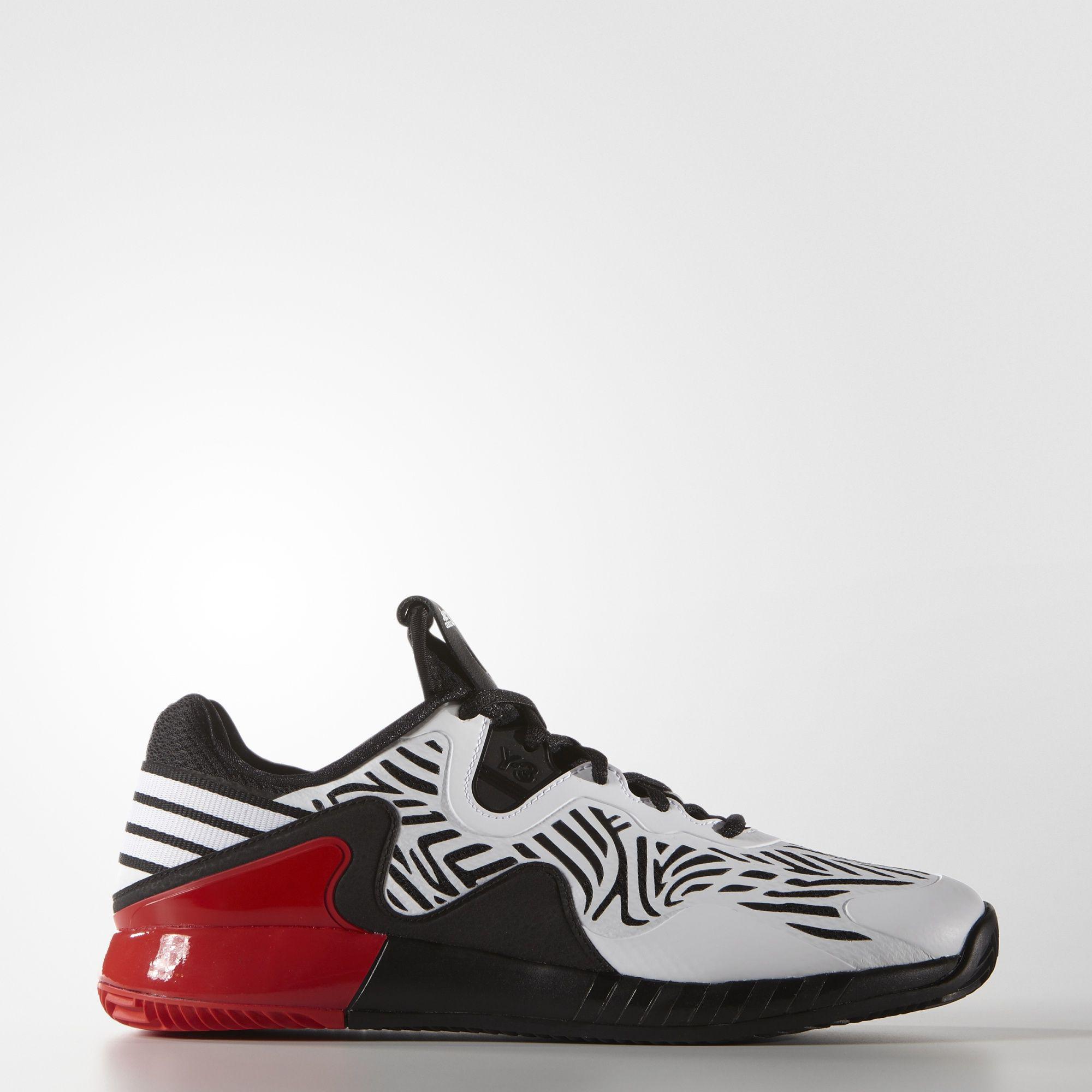Adidas Mens Adizero Y-3 2016 Tennis Shoes - Black/White