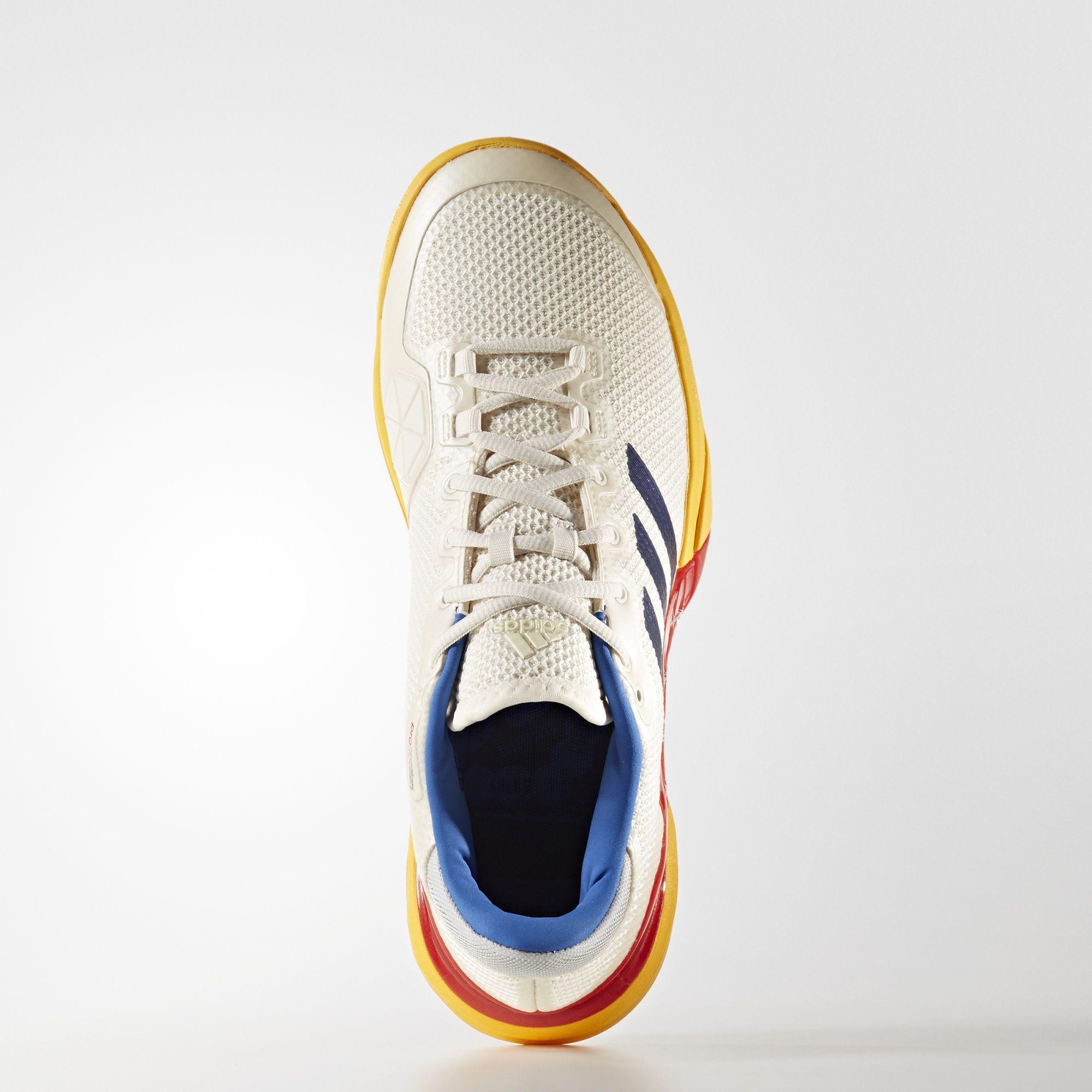 763c4a1f3db45 Adidas Mens Barricade 2017 Pharrell Williams Tennis Shoes - Multi-Colour