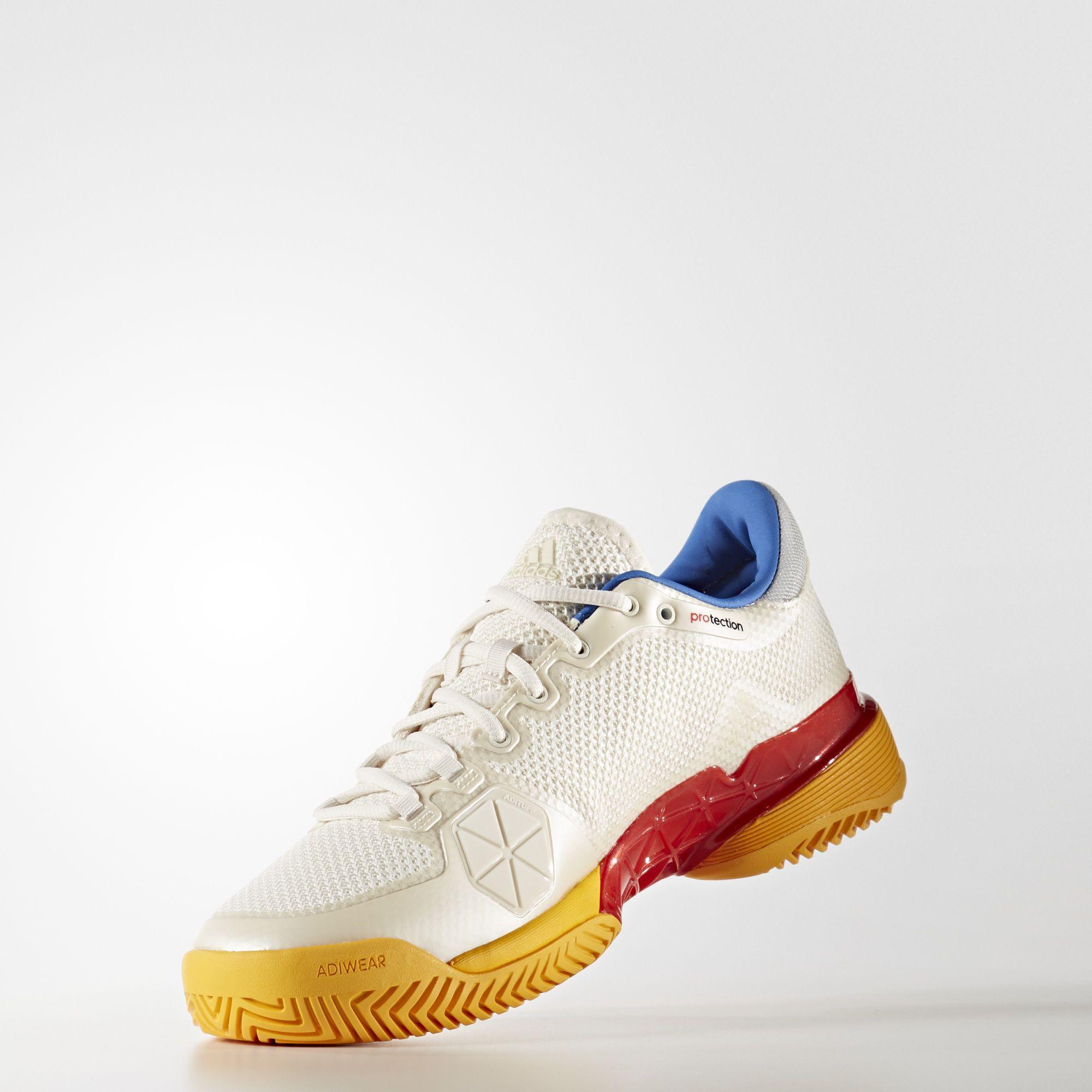 090e13e6c06a Adidas Mens Barricade 2017 Pharrell Williams Tennis Shoes - Multi-Colour -  Tennisnuts.com