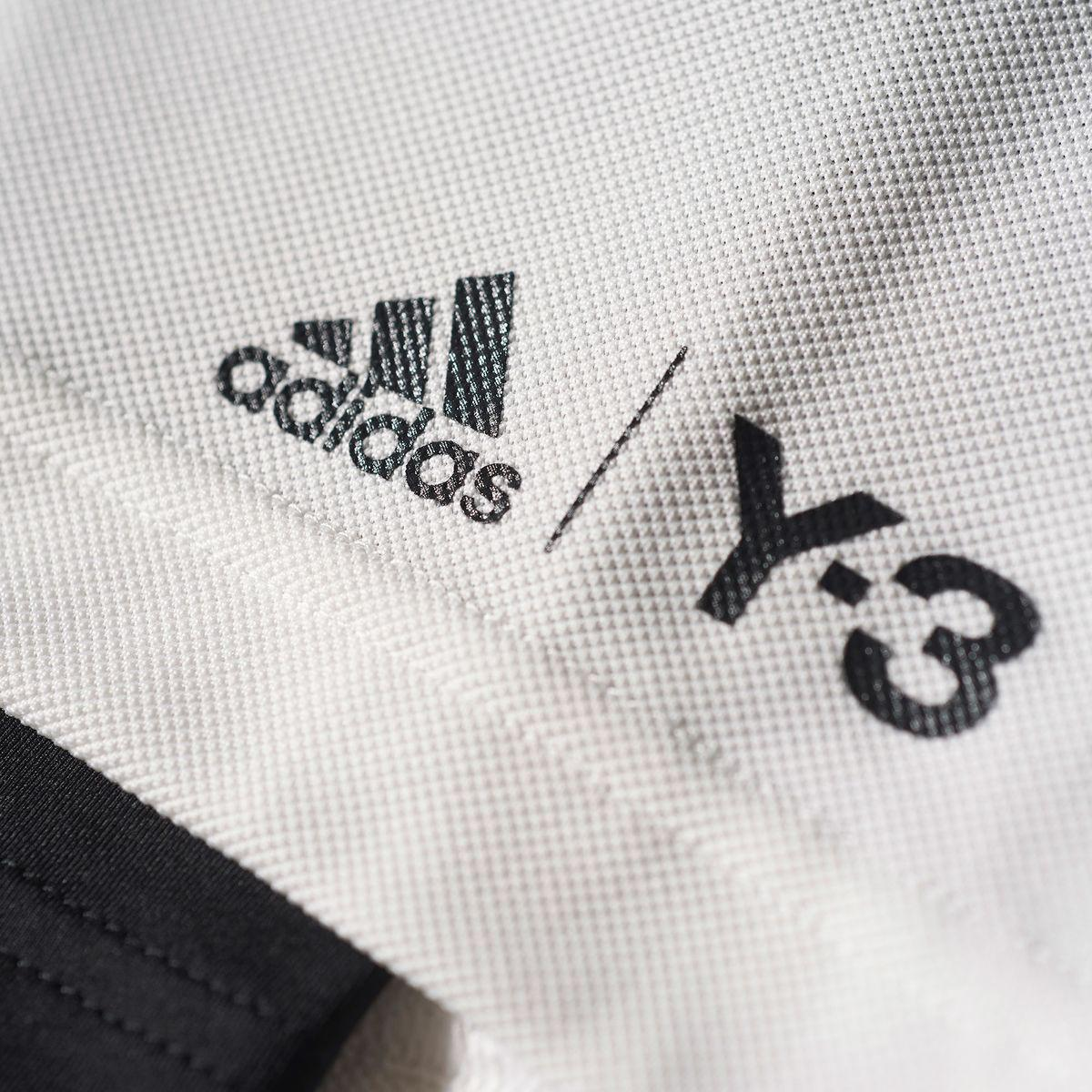 Adidas Mens Y 3 Roland Garros Shorts White