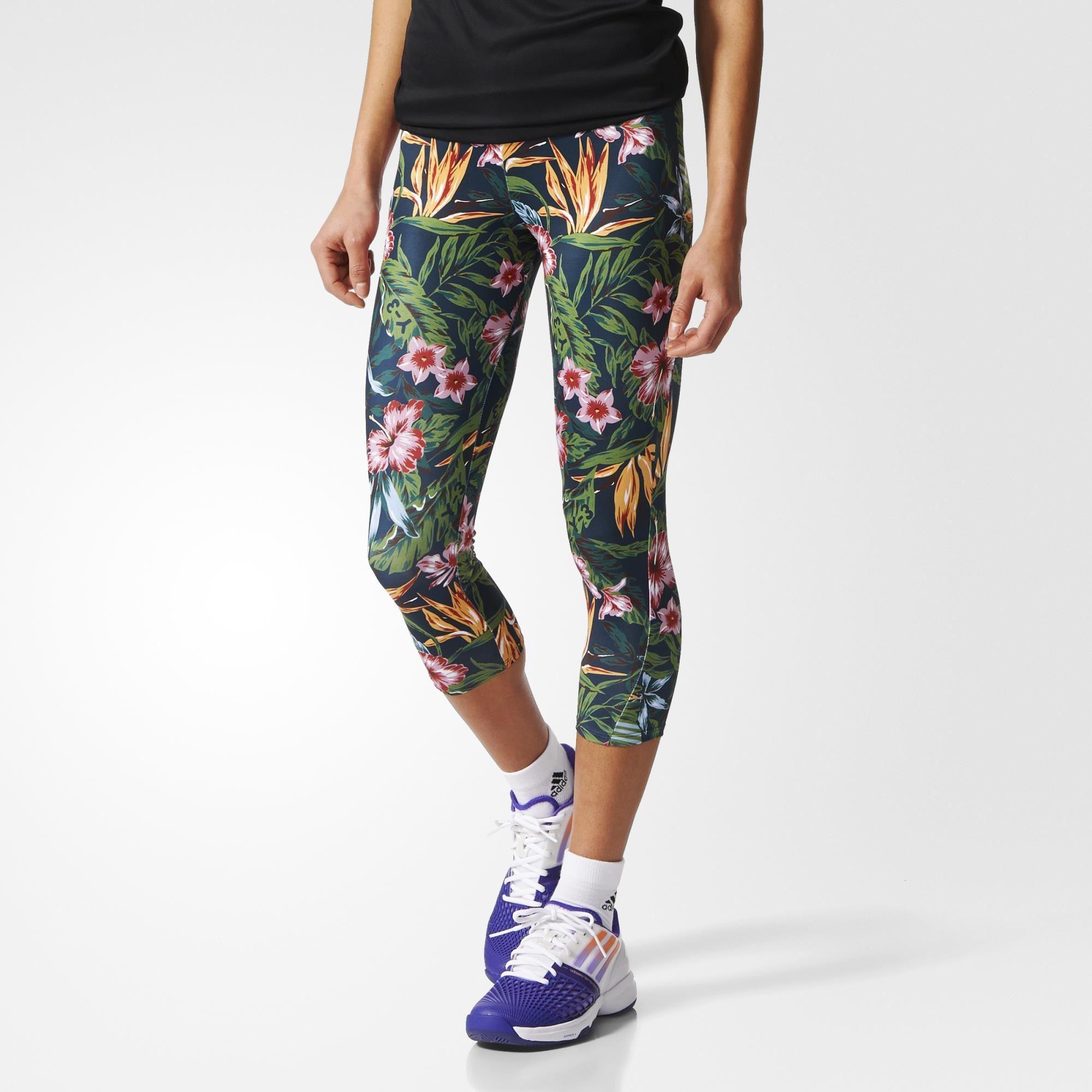 07458933e Adidas Womens Y-3 Roland Garros Pants - Flower - Tennisnuts.com
