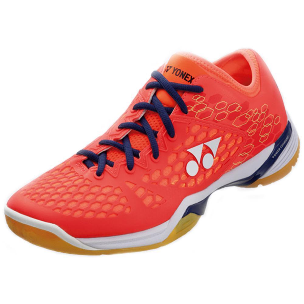 Yonex Mens Power Cushion SHB 03 Z Badminton Shoes - Coral Red -  Tennisnuts.com ad195a8d085