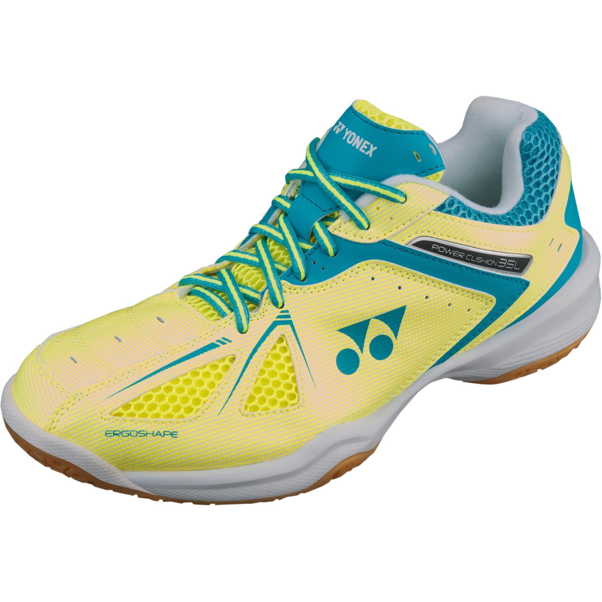 a4ccb7bc2f23d Yonex Womens Power Cushion SHB 35 Badminton Shoes - Yellow