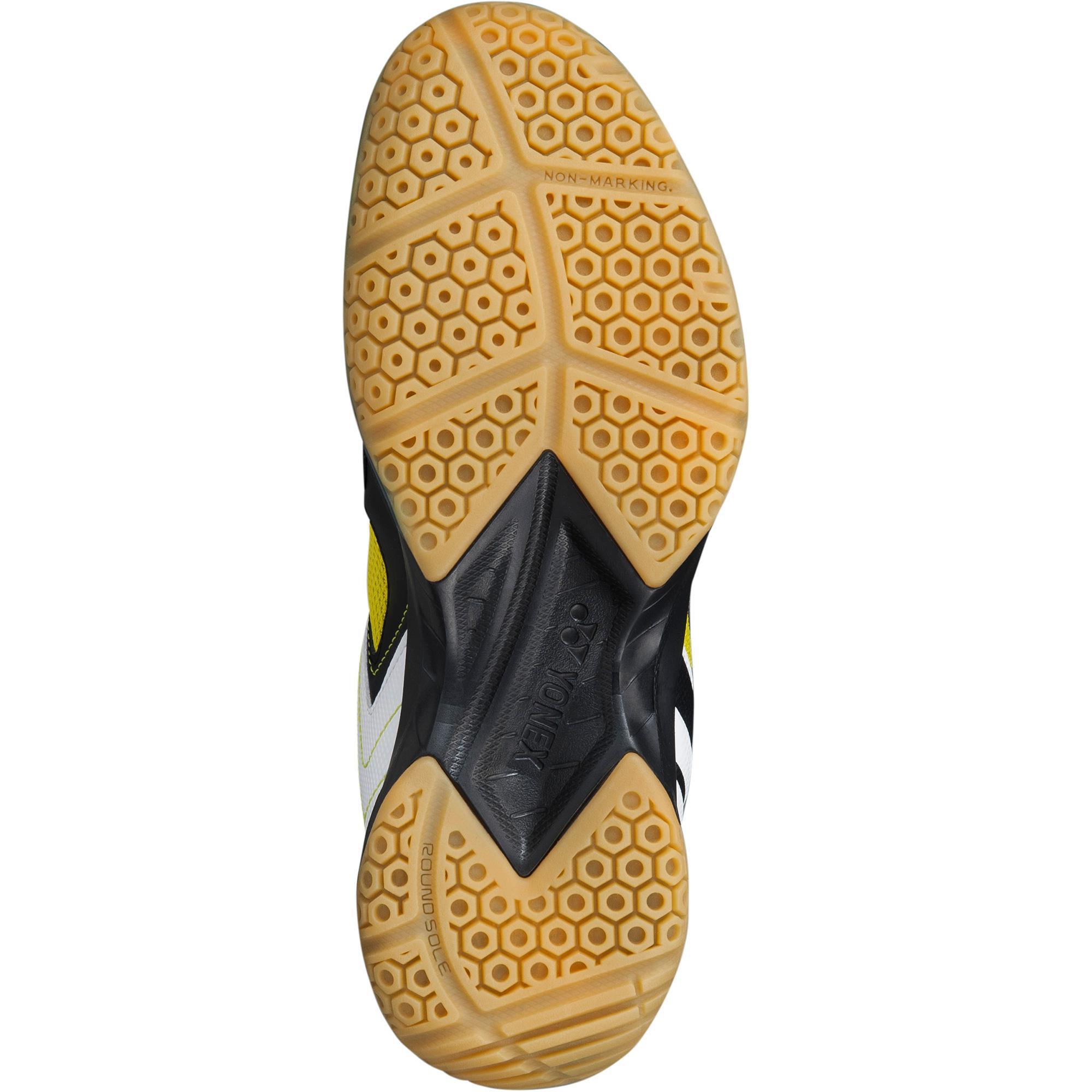 Yonex Mens Power Cushion Shb 47 Badminton Shoes Black Lime