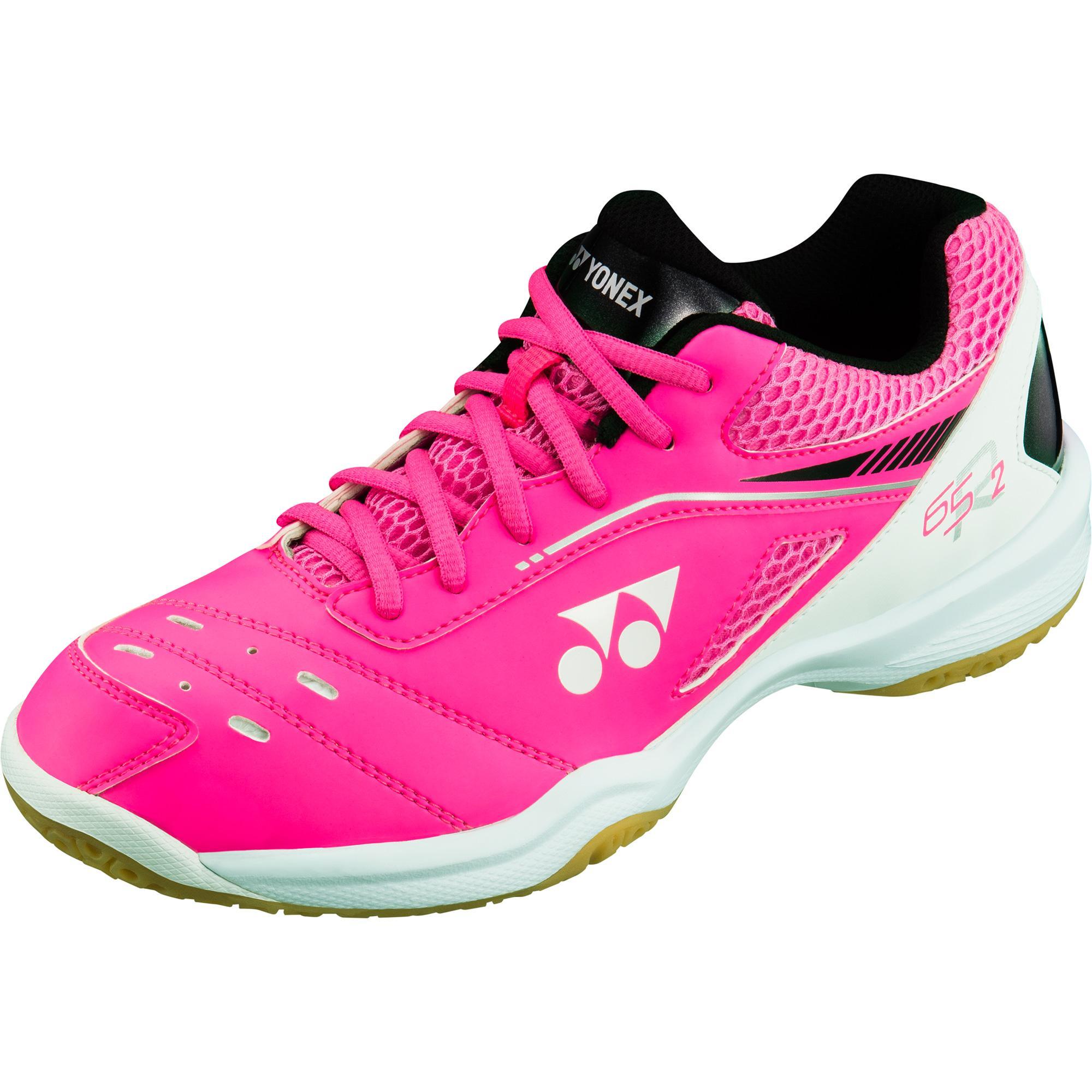 51cfbbefba8a6 Yonex Womens Power Cushion 65 R 2 Badminton Shoes - Pink