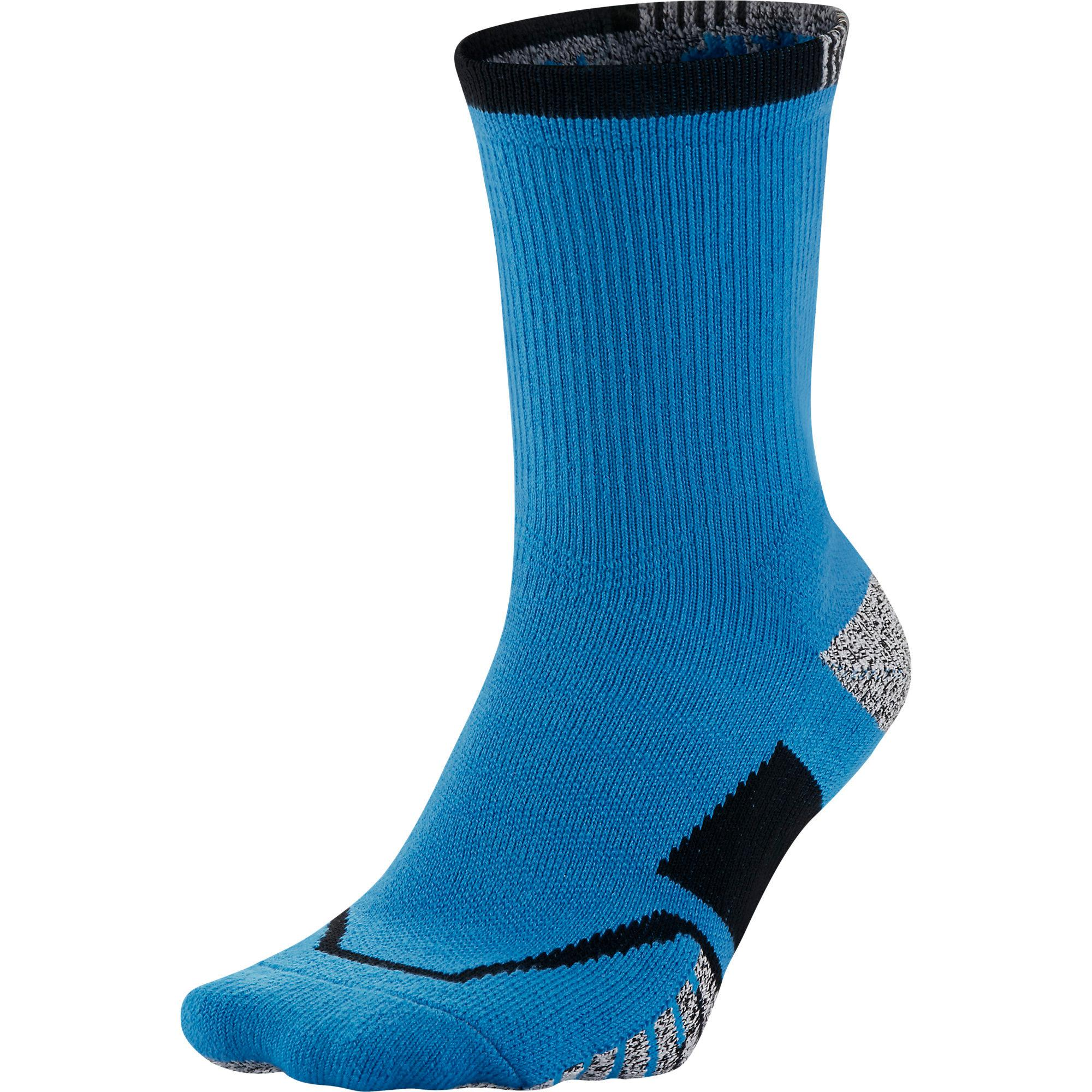 ae9910dc8 Nike Grip Elite Crew Tennis Socks (1 Pair) - Light Photo Blue -  Tennisnuts.com