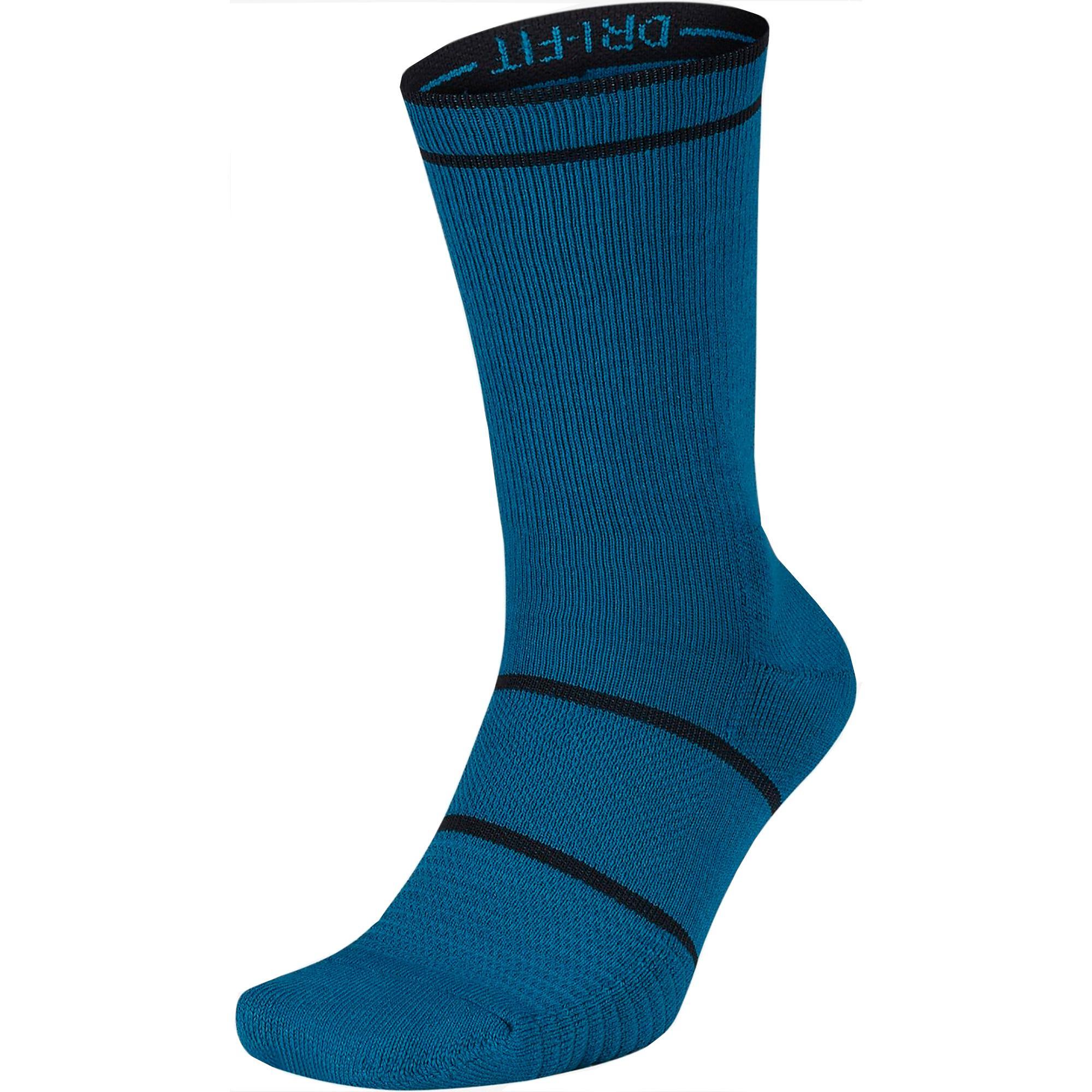online store 7e59e c4847 ... Nike Court Essential Crew Socks (1 Pair) - Green AbyssBlack 2017all  black 2e2f3 c8110 ...