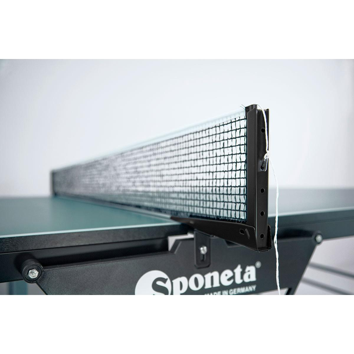 Sponeta sportline rollaway playback 19mm indoor table tennis table green - Sponeta table tennis table ...