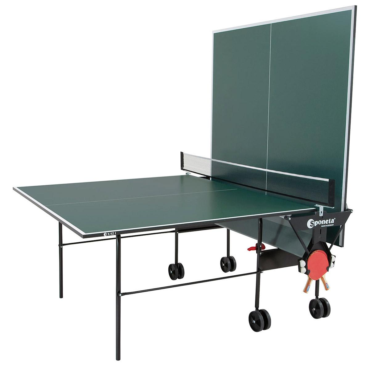 Sponeta hobbyline playback 19mm indoor table tennis table green - Sponeta table tennis table ...