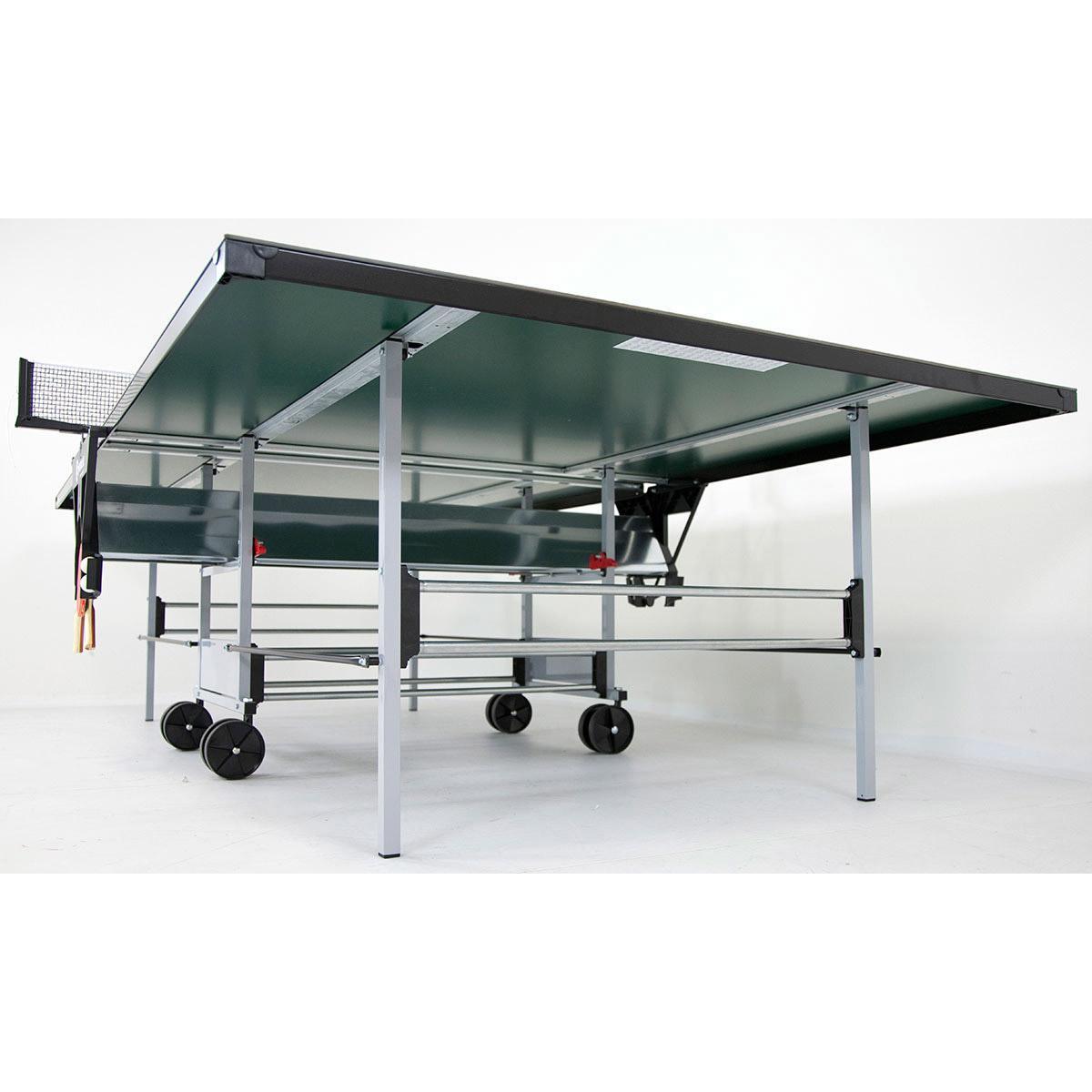 Sponeta sportline playback 5mm outdoor table tennis table green - Sponeta table tennis table ...