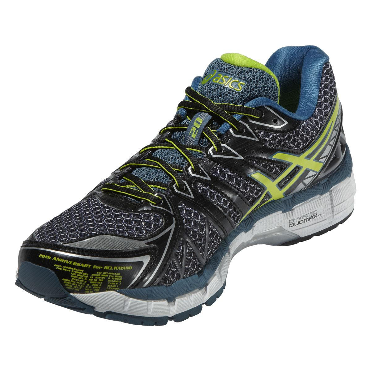 Black Asics Gel Running Shoes