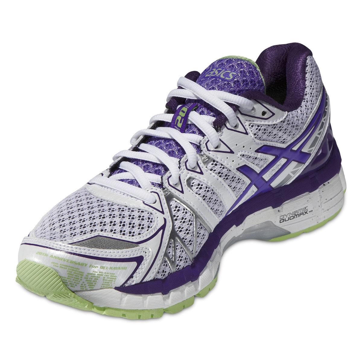 purple asics kayano 20