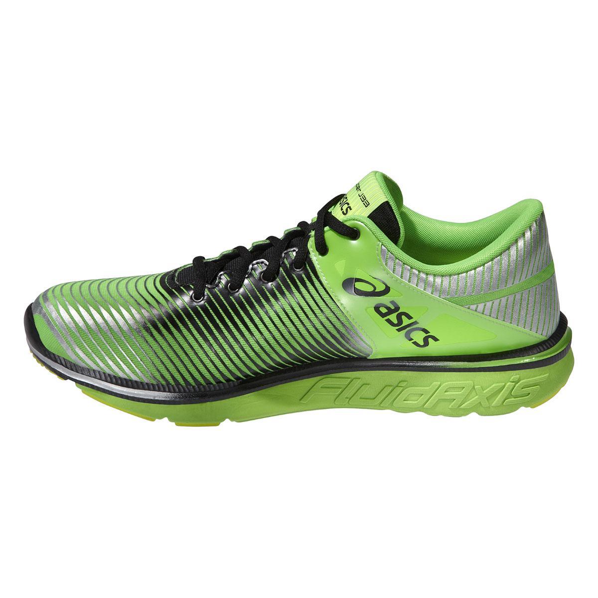 Asics Mens GEL-Super J33 Running Shoes - Flash Green/Onyx/Silver - Tennisnuts.com