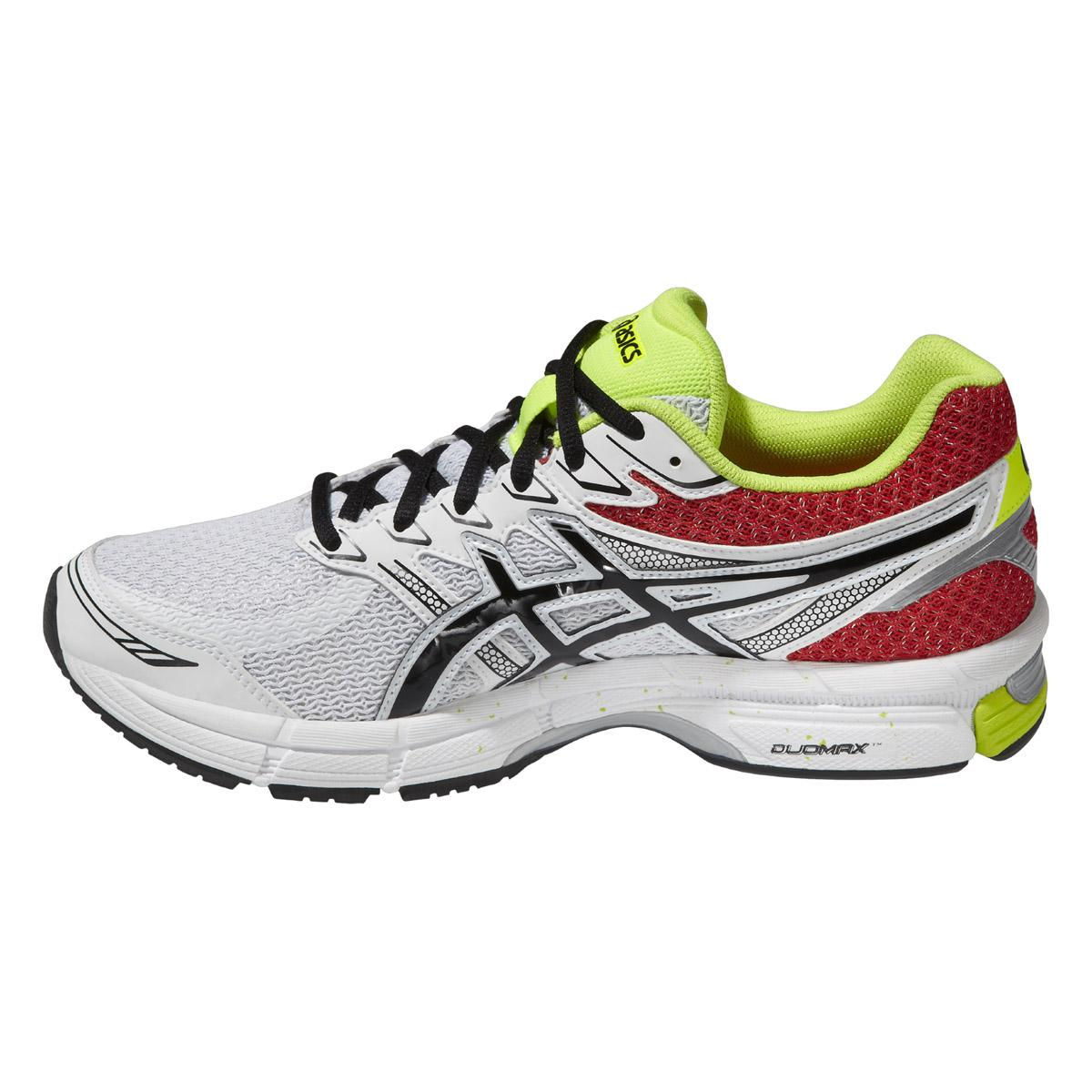 Asics Mens GEL-Phoenix 6 Running Shoes - White/Red