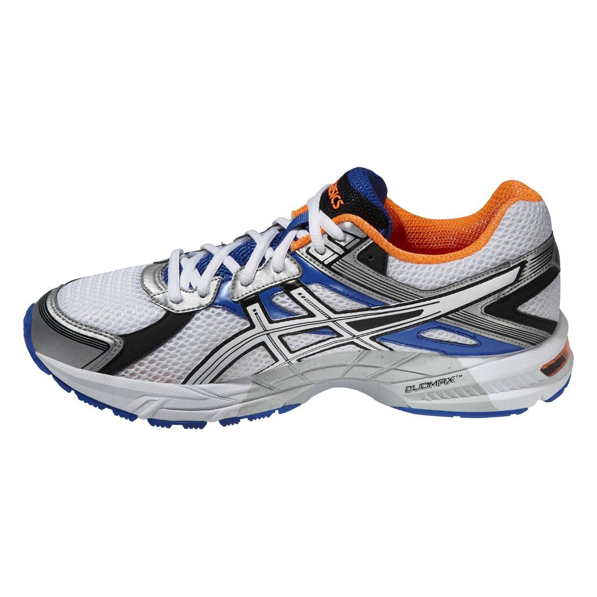 Asics Mens GEL-Trounce 2 Running Shoes - White/Blue