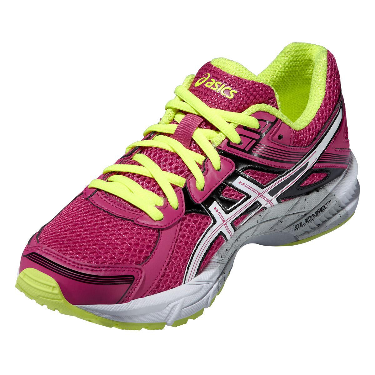 wybór premium w sprzedaży hurtowej Darmowa dostawa Asics Womens GEL Trounce 2 Running Shoes - Hot Pink/White/Yellow