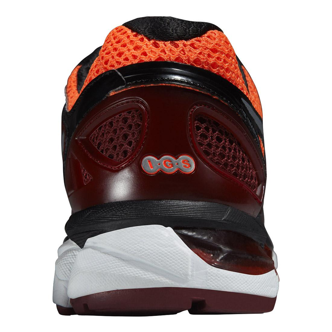 new arrival 52745 9fa0f Asics Mens GEL-Kayano 21 Running Shoes - Red Orange
