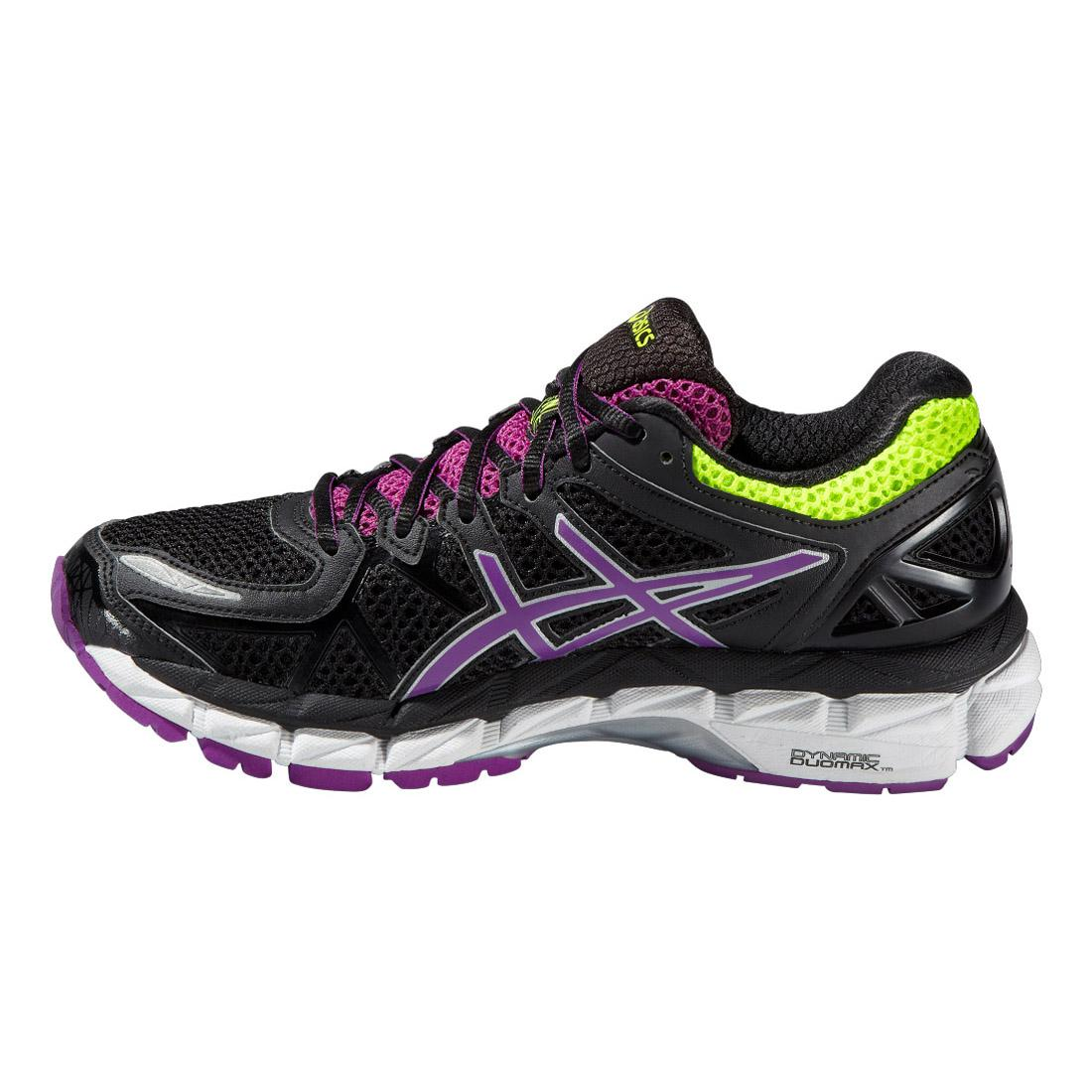 asics womens gel kayano 21 running shoes black