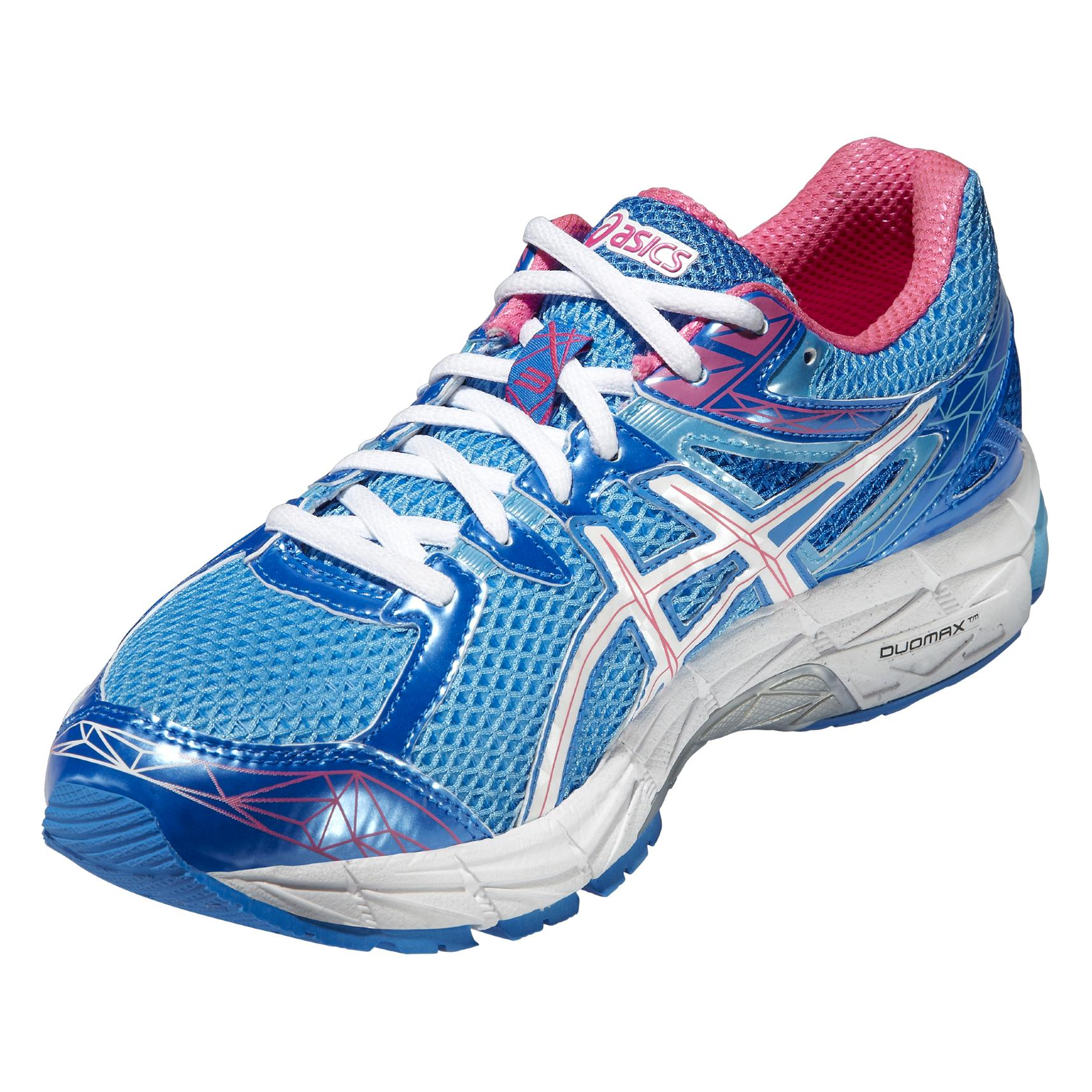 Asics Womens GT-1000 3 Running Shoes - Turquoise/White/Hot