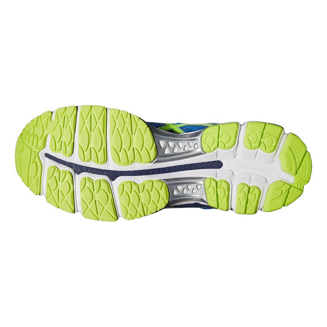 Asics Mens GEL Yellow Nimbus 17/ Chaussures de course GEL Electric Blue/ Flash Yellow 6c2ad8f - newboost.website