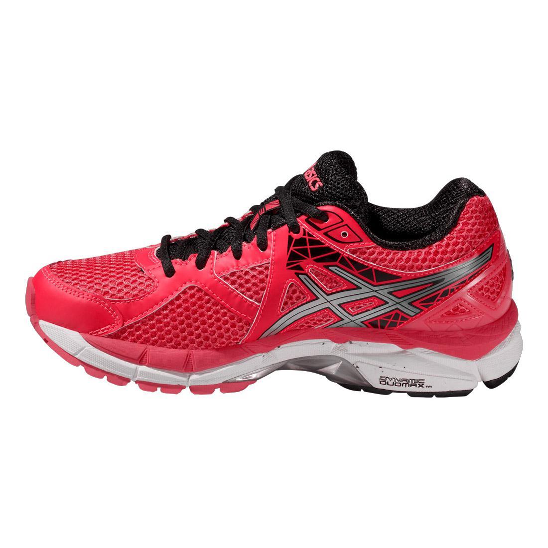 Asics Womens GT-2000 3 Running Shoes - Pink/Black