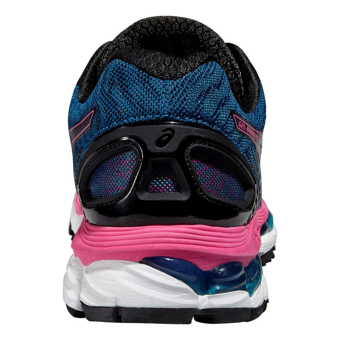 buy popular 4edcc 385eb Asics Womens GEL-Nimbus 17 Running Shoes - Mosaic Blue/Pink