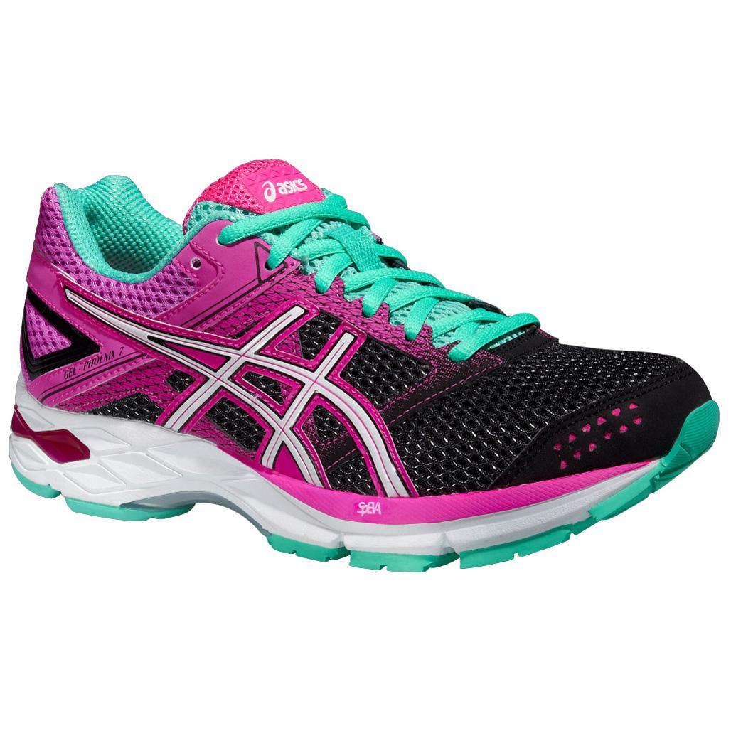 Asics Womens GEL-Phoenix 7 Running Shoes - Black/Pink Glow