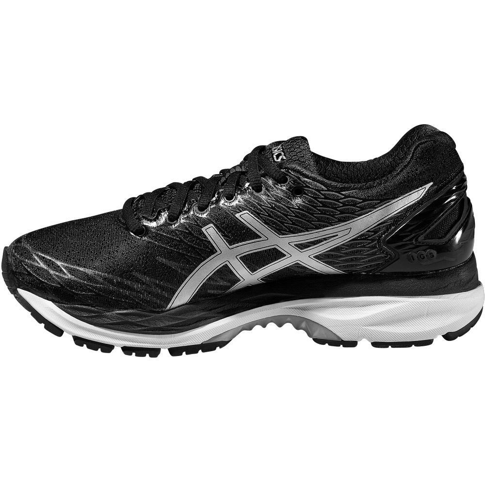 Asics Womens GEL-Nimbus 18 Running Shoes - Black ...