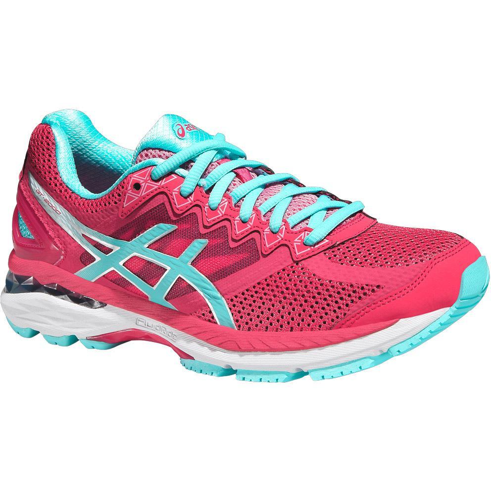 Asics Womens GT-2000 4 Running Shoes - Pink - Tennisnuts.com