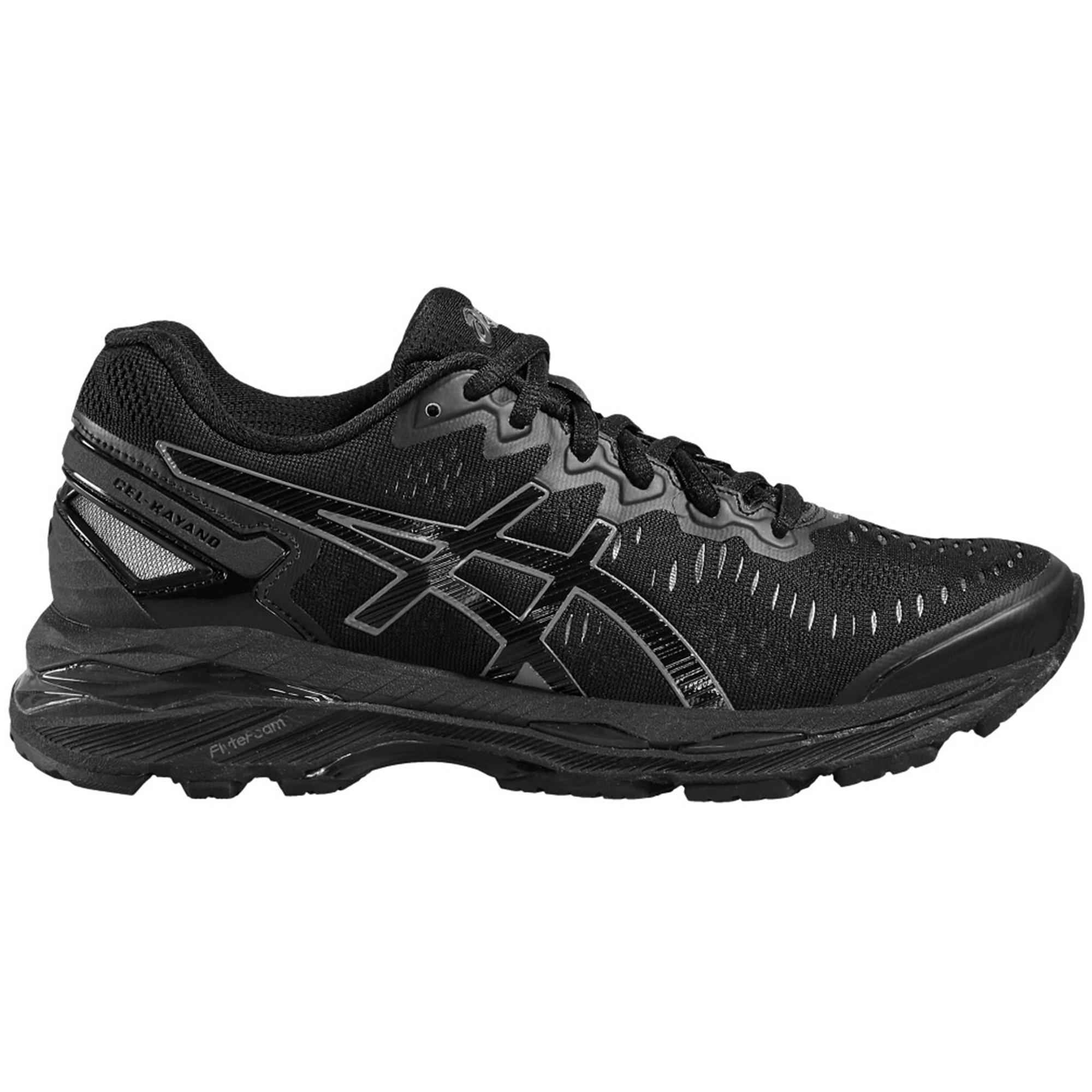 Asics Womens GEL-Kayano 23 Running Shoes - Black ...