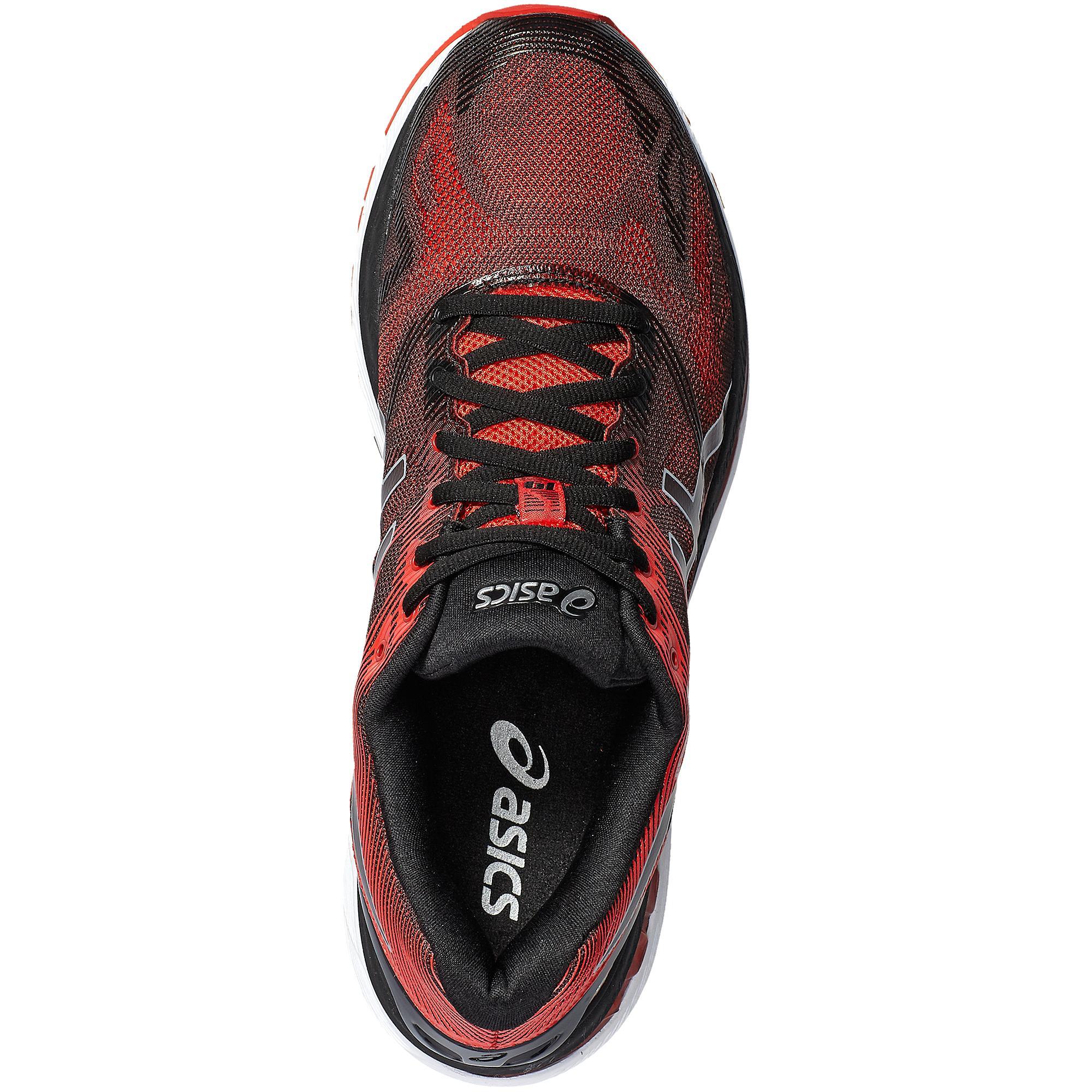 best value 36f21 ca037 Asics Mens GEL-Nimbus 19 Running Shoes - Vermillion Red/Black