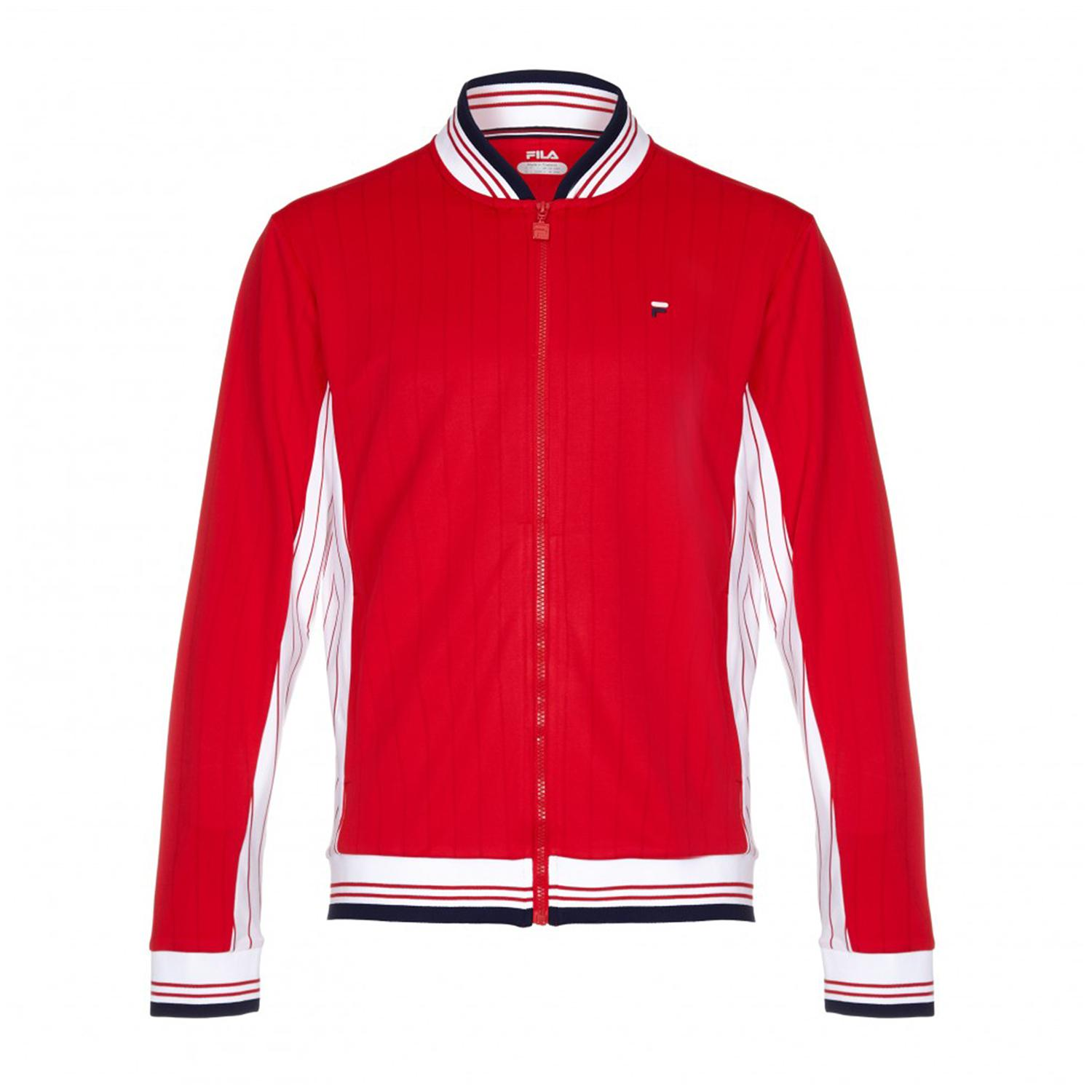 Fila Mens Heritage Jacket - Red
