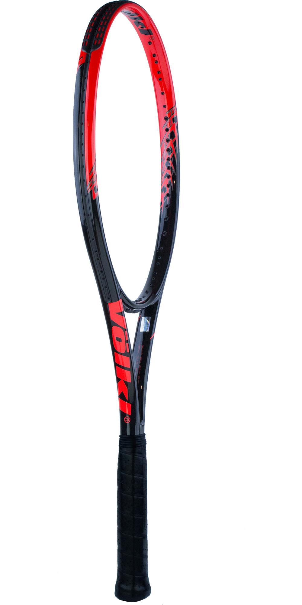 Volkl Team Speed Tennis Racket - Black/Lava - Tennisnuts.com